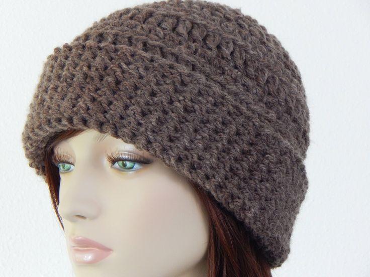 Crochet PATTERN PDF, The Nature Lover Beanie, Folded Cuff Hat, Winter Hat Pattern, Teens Womens, Ski Hat Crochet Pattern, MarlowsGiftCottage by MarlowsGiftCottage on Etsy