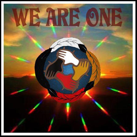 Rusty Onowakohton Nolan ~ We Are ONE.