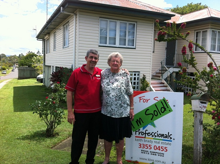 One very happy lady. Sold in 7 days!