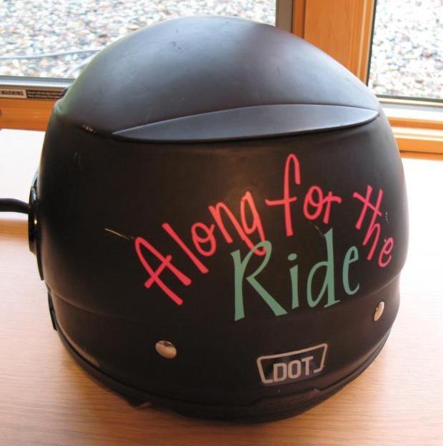 Fun Motorcycle Helmet!