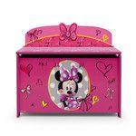 Delta Children Minnie Mouse Deluxe Toy Box & Reviews   Wayfair