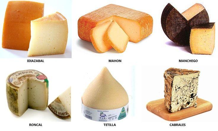 Výsledek obrázku pro quesos espaňoles