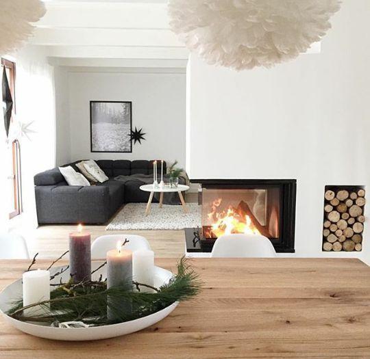Kamin #Kamin #raumteiler #Raumteiler #Wohnzimmer …