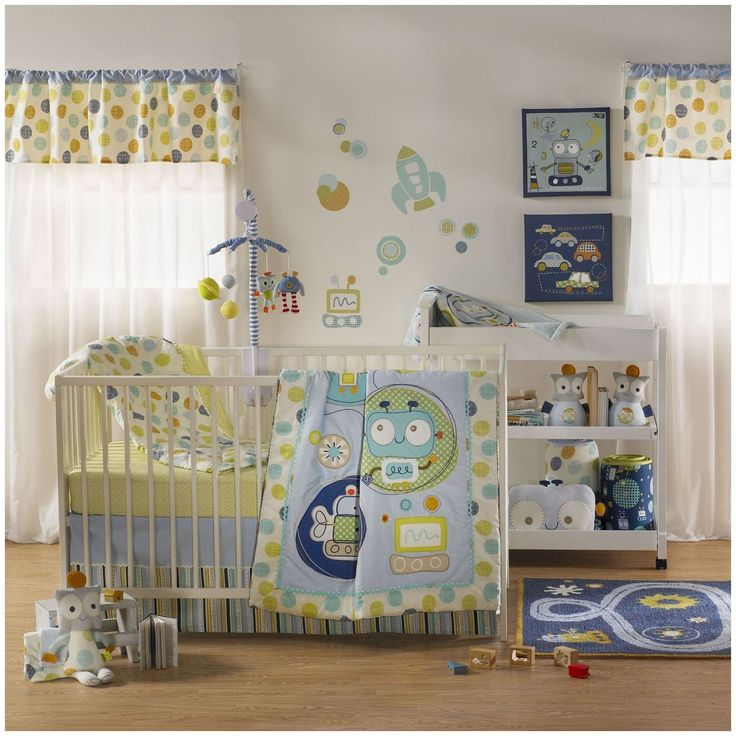 Lolli Living Baby Bot Crib Bedding and Accessories