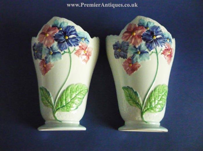 carlton+ware+hydrangea+wall+pocket+vases+1a.jpg 700×521 pixels