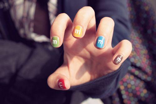 MnMs nail design