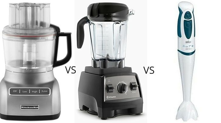 The Chopping Blog: What tool should you plug in? We clear up the confusion around when to use food processors vs blenders vs immersion blenders, along with recipes for each.