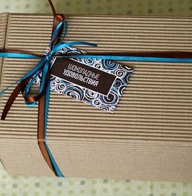 Шоколадные удовольствия подарочный набор