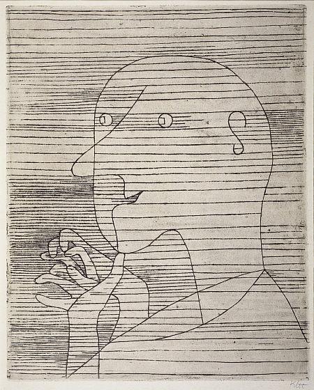 Paul Klee  - Old Man Calculating