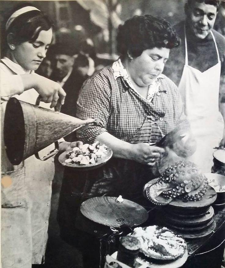 Pulpeira.Santiago de Compostela 1960 Josip Ciganovic. Ollar Galicia https://www.facebook.com/groups/864290496922149/
