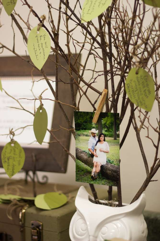 Woodland Baby Shower Party Ideas | Photo 9 of 29 | Catch My Party