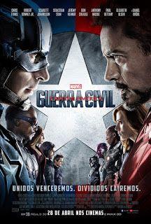 Quase critica: Capitão América Guerra Civil