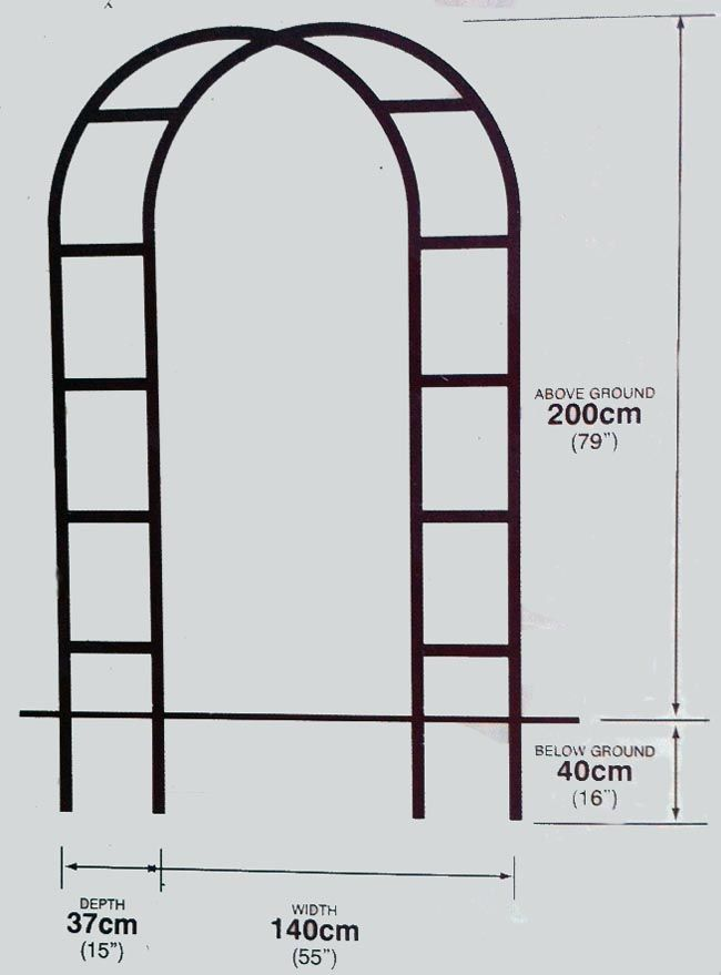 17 mejores ideas sobre arcos de jard n en pinterest arco for Arco decorativo jardin