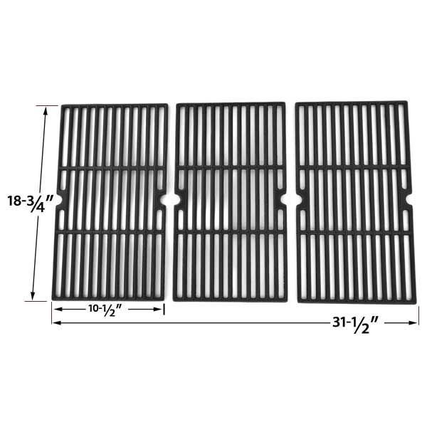 3 PACK CAST IRON COOKING GRID FOR CENTRO 5000RT, 85-1211-0, G60104, CHARBROIL 463241904 GAS GRILL MODELS Fits Compatible Centro Models : 5000RT, 85-1211-0, 85-1211-0 (2004), 85-1251-4, 85-1251-4 (2004), G60104, G60105 Read More @http://www.grillpartszone.com/shopexd.asp?id=34771&sid=38005