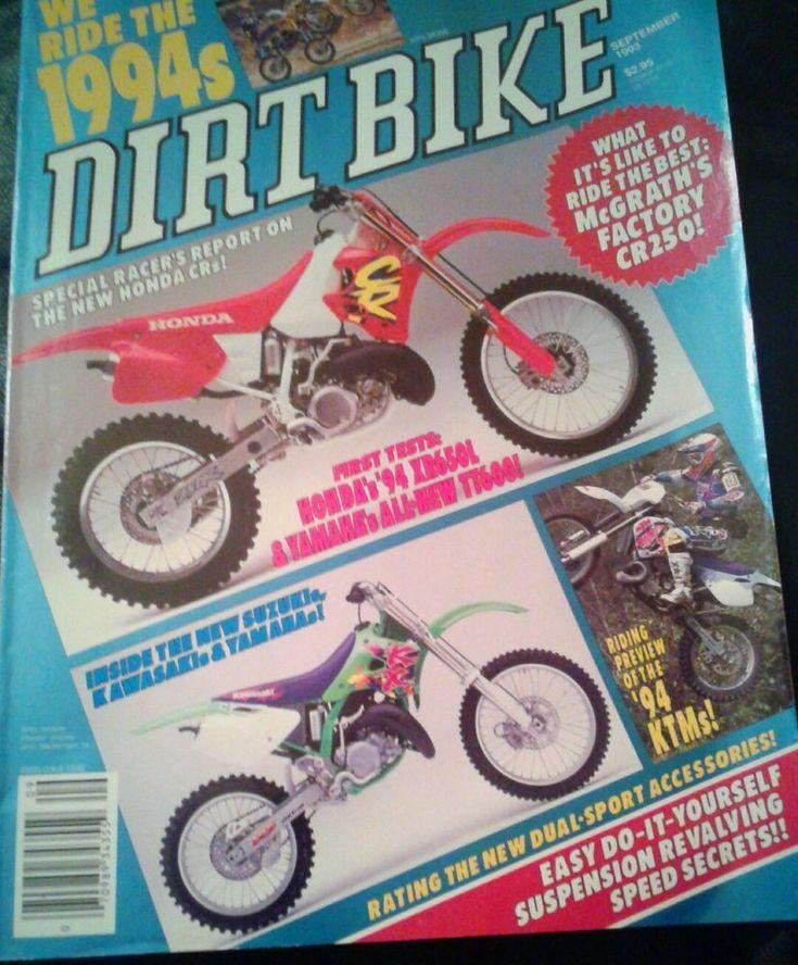September 1993 DIRT BIKE Magazine motocross moto x racer action mx   Books, Magazine Back Issues   eBay!