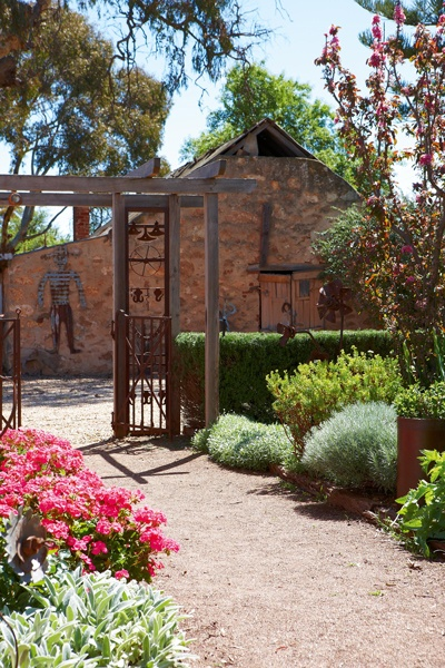willowsporn garden - Barossa Valley. A stunning rural garden thats rich in history and a favourite for its diverse plantings.