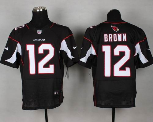 nike cardinals john brown black alternate mens stitched nfl elite jersey cheap arizona cardinals jersey show your support for your favorite team and h