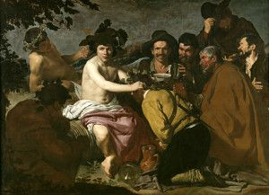 The Drinkers By Diego Valazquez Prado Müzesi