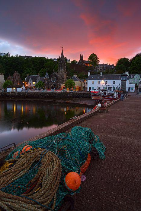 Tobermory , Isle of Mull, Scotland