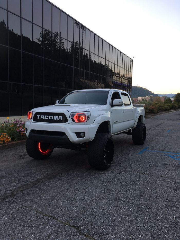 Gage's 2014 Tacoma With A 6 Inch Rough Country Lift And Cleaver Wheels.  #builttacomas #tacomaworld #toyotatrucks  #toyotatacoma  #yota  #yotalife