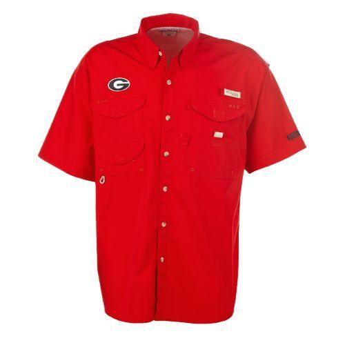 Image for Columbia Sportswear Men's Collegiate Bonehead™ University of Georgia Shirt from Academy Size Medium