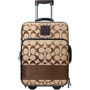I've been looking for this one for over a year. It's gone! Coach luggage   Coach Luggage on Sale