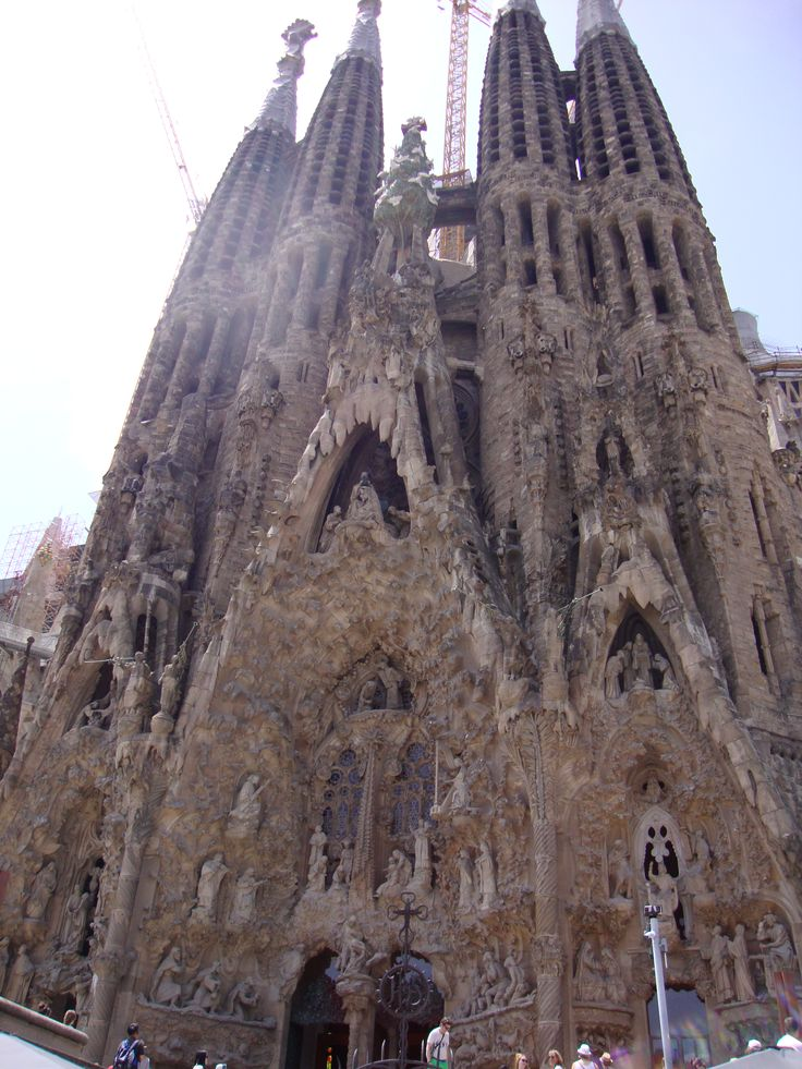 Barcelona, Spain - Mediterranean Cruise - Sagrada Familia by Antoni Gaudí
