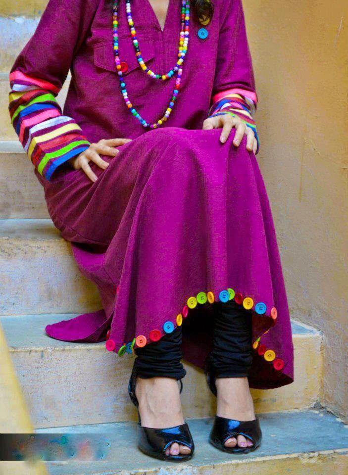 Pakistani Kurta Designs 2015-2016 Unique & Trendy styles