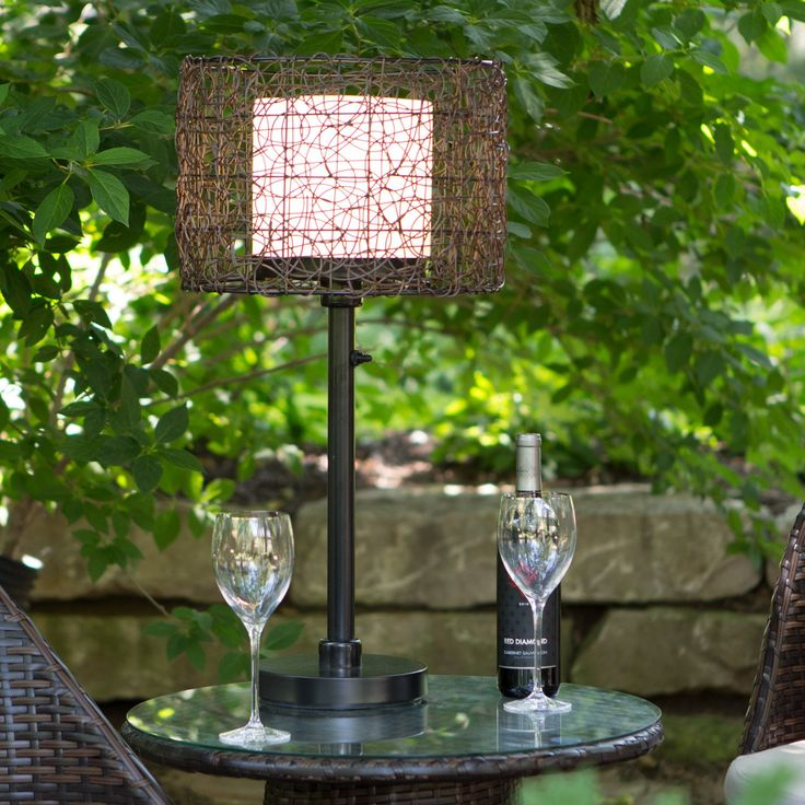 Have to have it. Kenroy Home Tanglewood Outdoor Table Lamp - $144 @hayneedle