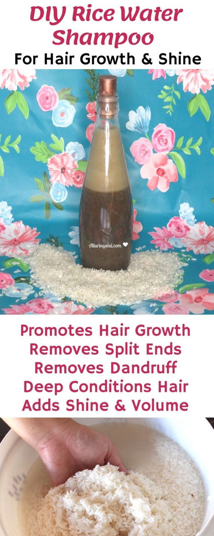 7 Benefits Of Rice Water For Hair + DIY Hair Growth