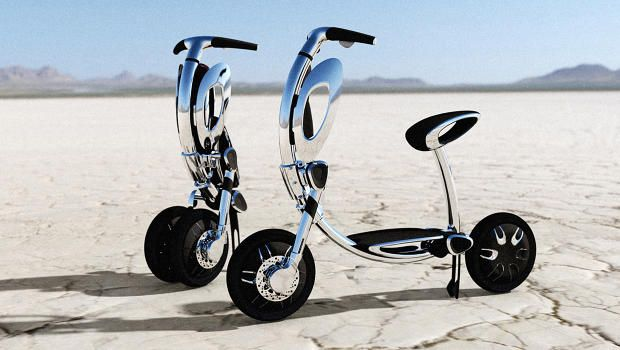 Its designers studied the graceful movements of a ballet dancerall to make cycling even more convenient.