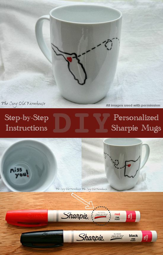 DIY Sharpie Mugs, plates or bowls. Do it right the first time with the right tools!