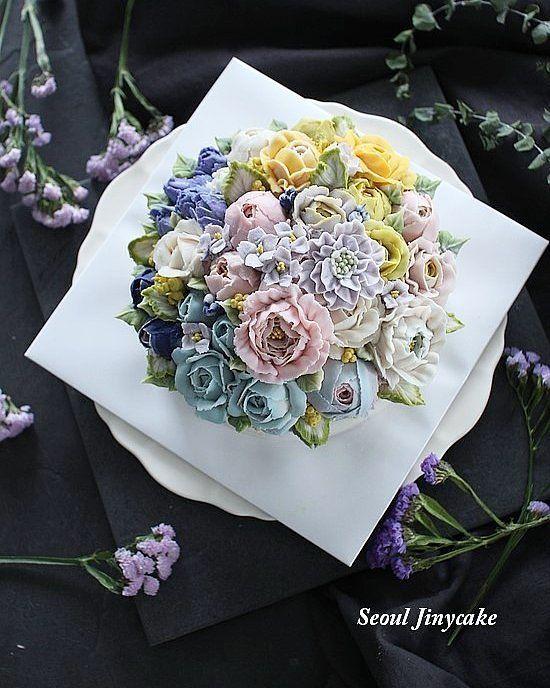 """좋아요 36개, 댓글 2개 - Instagram의 지니케이크 korea flower cake(@seoul_jinycake)님: """". Advanced class 솜사탕생각나는컬러들 아~예뽀 . . ✔8월,9월정규반 수강모집중 . ✔원데이클래스 상시모집중 ✔케익주문가능 . Kakaotalk ID:…"""""""