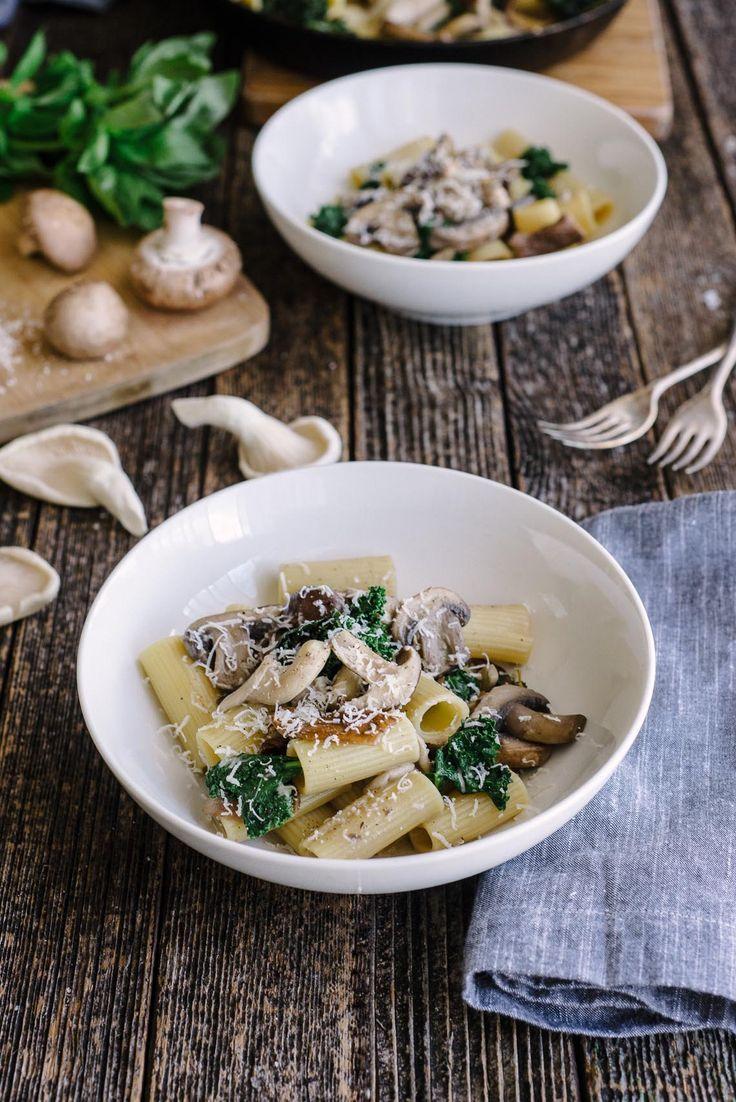 Four Mushroom Pasta | The Hungry Australian