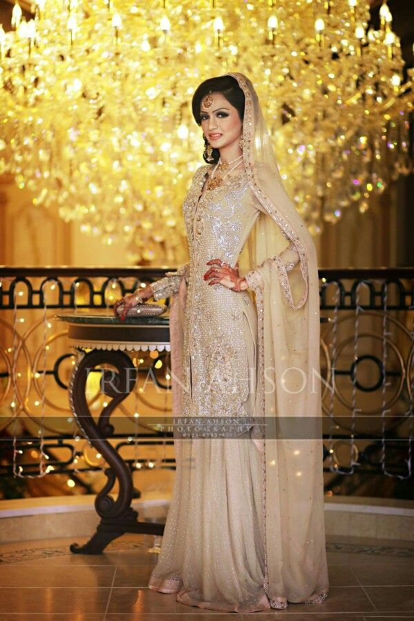 Pakistani wedding dress                                                                                                                                                      More