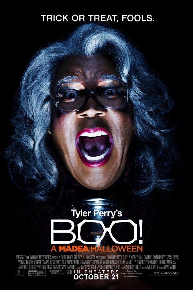 Boo! A Madea Halloween (2016) Film Poster