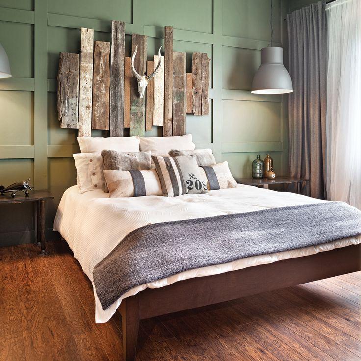 d coration murale bois chambre. Black Bedroom Furniture Sets. Home Design Ideas