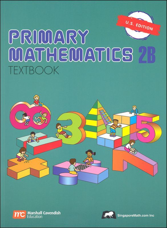Primary Math US 2B Textbook | Main photo (Cover)