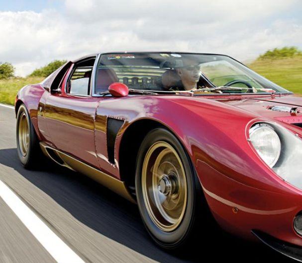 Lamborghini Jota - five produced