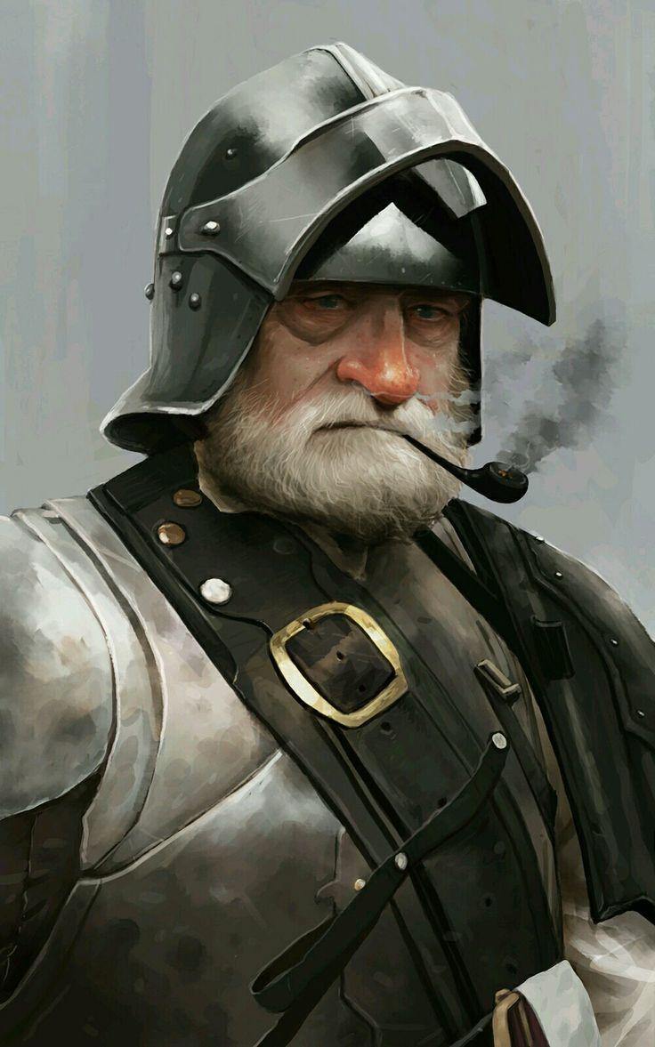 Hombre Capitán de la Guardia, Veterano Instructor