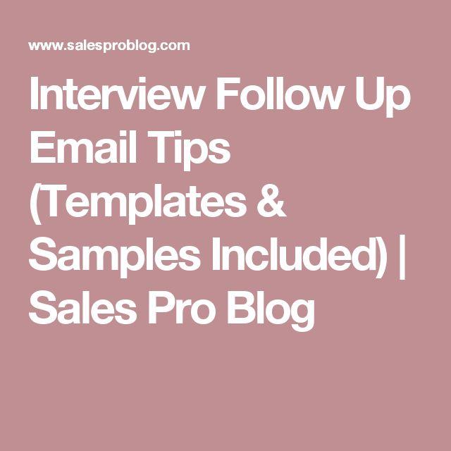 Best 25+ Interview follow up email ideas on Pinterest Landing - resume follow up