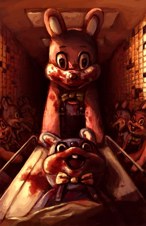 Robbie The Rabbit ~ Silent Hill 3