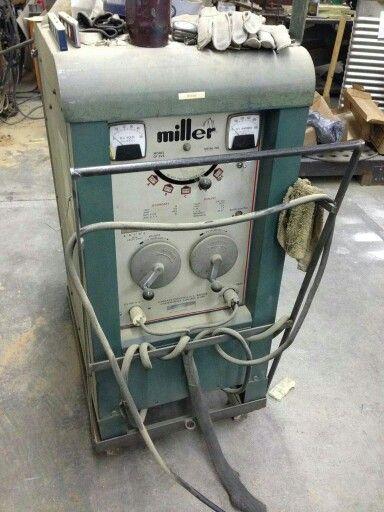Miller welding machine. Cool.