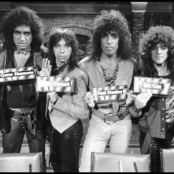 Kiss Band Without Makeup: 89 Best KISS 1982-1984 Images On Pinterest