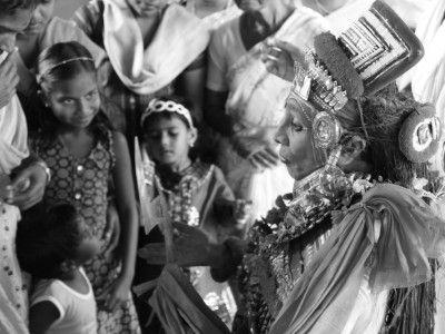 The Theyyam, Tellicherry, Kerala, India