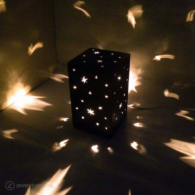 Christmas Lantern Lights - Starry Sky  #Christmas #Home #Decoration #Lamp #Lights #Glowing #Box #Gift #Ideas #Lampu #Hias #Dekorasi #Natal