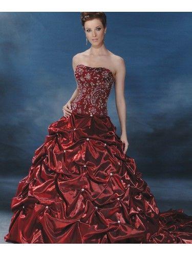 Organza Sweetheart Strapless Bodice Wedding Dress