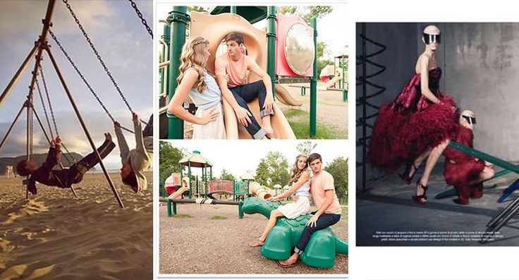 playground photo shoot before prom, homecoming or wedding ... click photo for more ideas