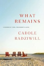 What Remains. Very moving book. It is non-fiction. And if you loved JFK, Jr and his wife Caroline keep a box of kleenex near by. You will adore Carole Radziwill when you are done! Must read!