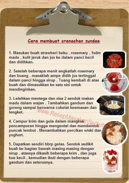 Resep Dessert - Cara Membuat Cranachan Sundae  #resep#masakan#sederhana#makanan#penutup#enak#cara#membuat#dessert#icecream#  You tube : http://www.youtube.com/watch?v=EnLfRl00-38  Nb : website (http://ResepMasakanSederhana.net/) kami dalam proses pembuatan :)
